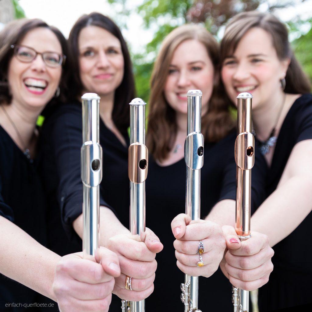Querflöten-Quartett, Noten für Querflötenquartett