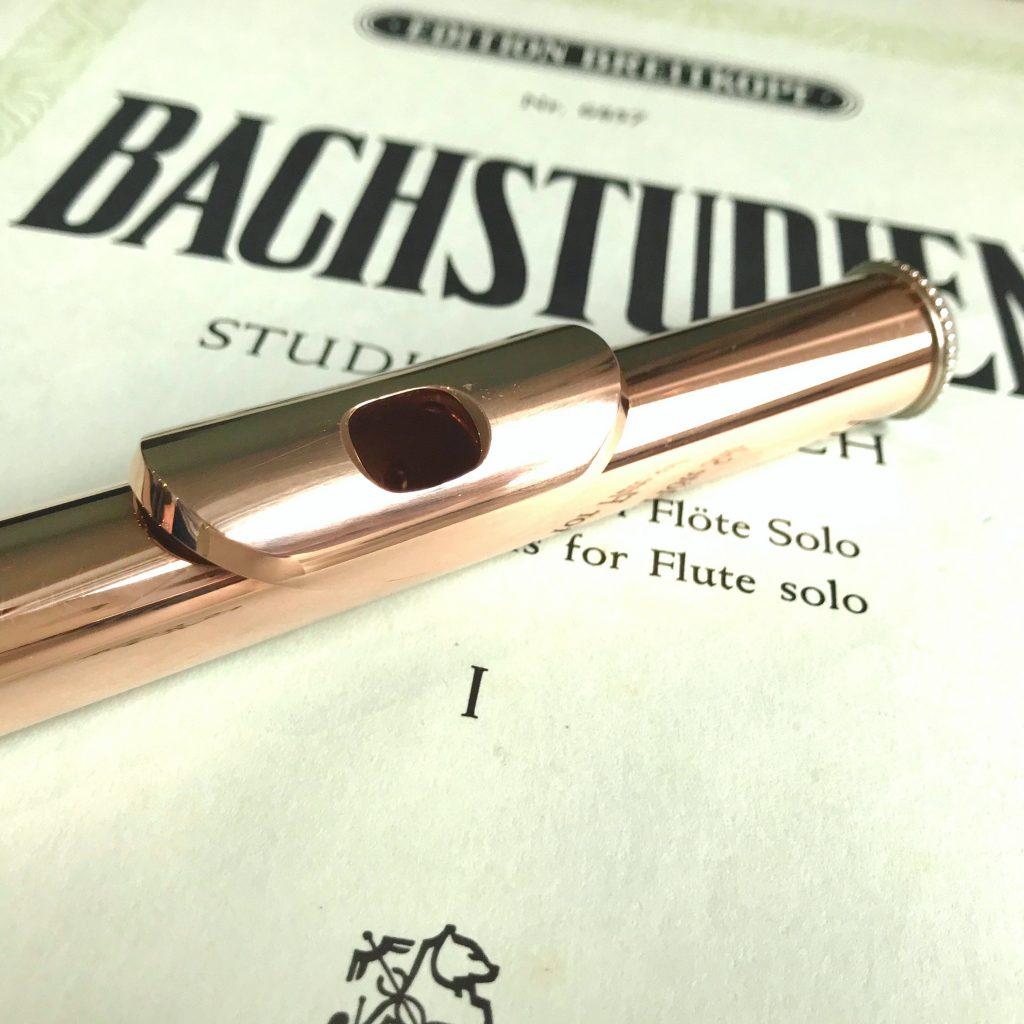 Bachstudien Etüden und Übungen für Querflöte