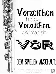 Print mit Merksatz für Musikunterricht, kostenloser Download zum Ausdrucken